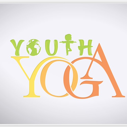 Logo for kids yoga