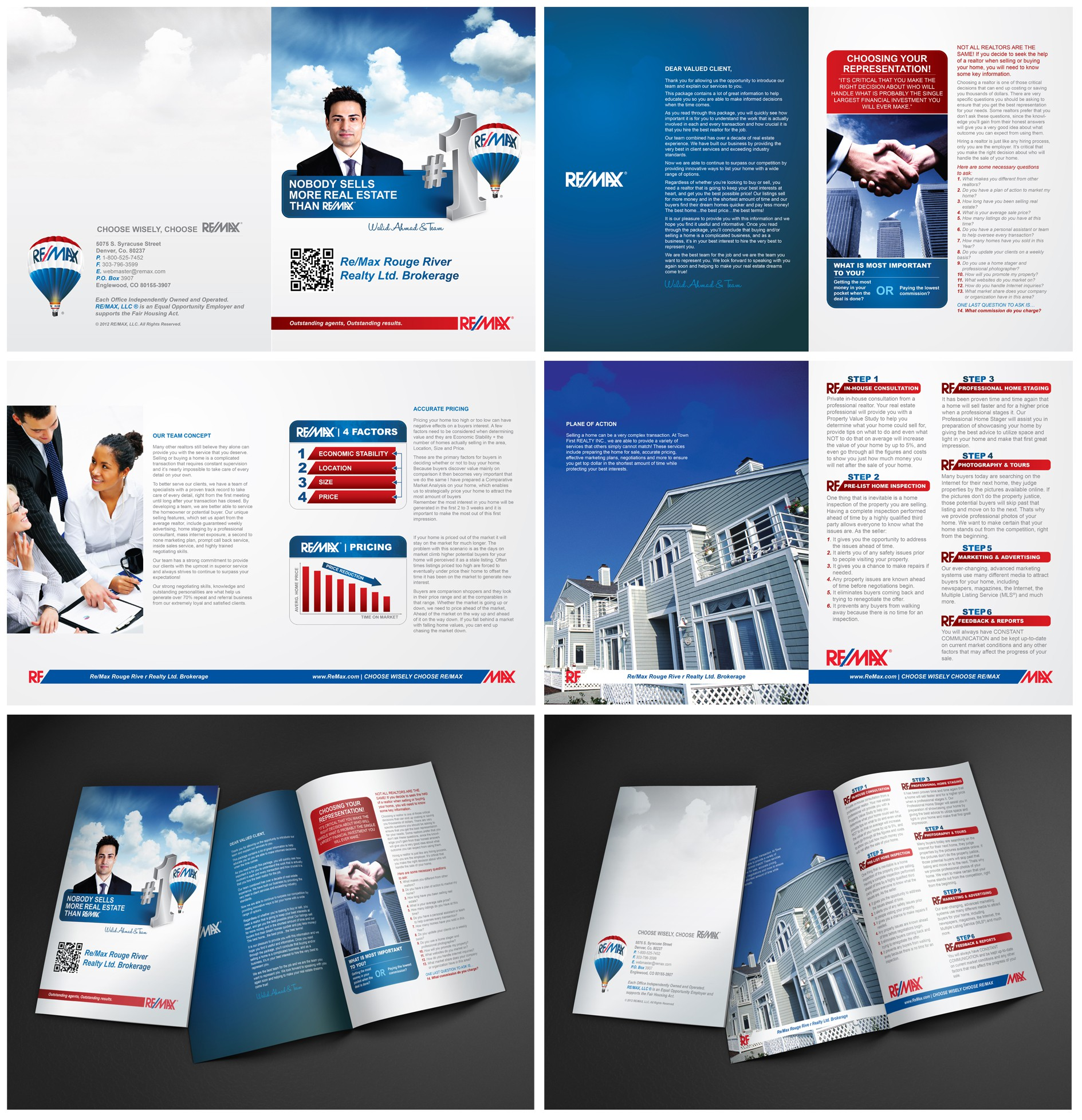 Help Re/Max Rouge River Realty Ltd. Brokerage  with a new brochure design
