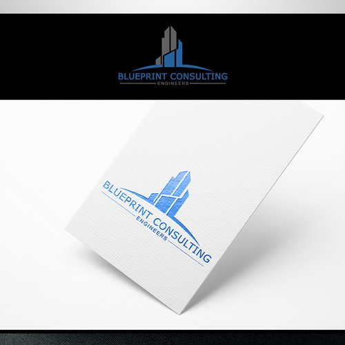 Clean & Professional logo of Consulting Engineers