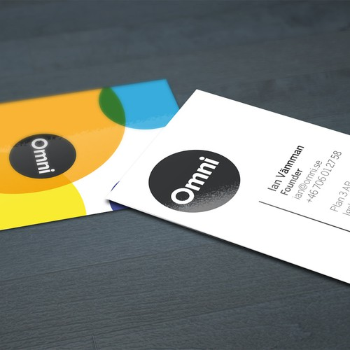 Create the next business card for Omni