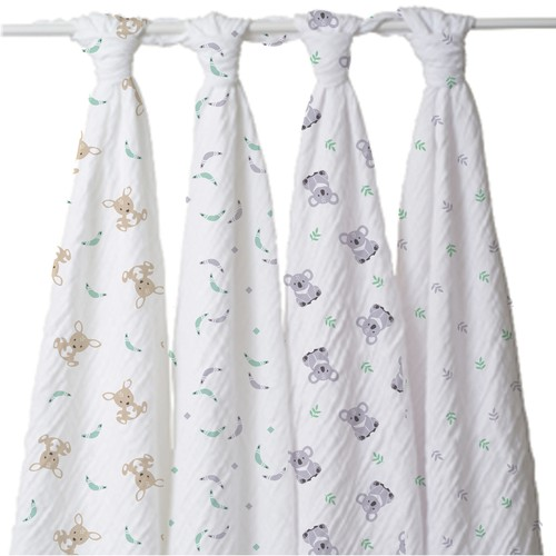 Baby swaddle blankets and bedding