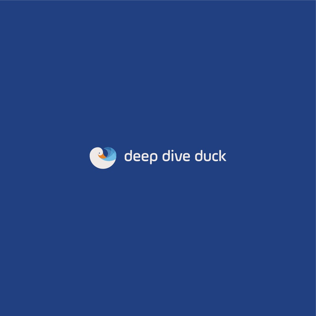 Deep Dive Duck: Material Design-inspired logo for software-as-a-service competitive intelligence app