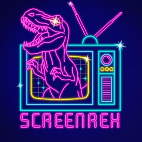Logo neon 80s