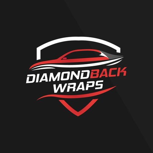 Vehicle wrap logo concept