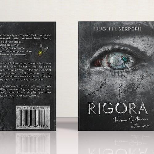 """Awesome and Creepy Book Cover Design for """"Rigora"""""""