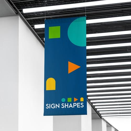 Sign Shapes Brand Identity Design