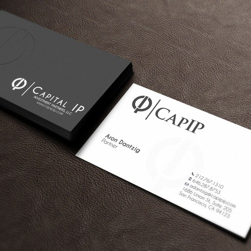 cool, simple business cards
