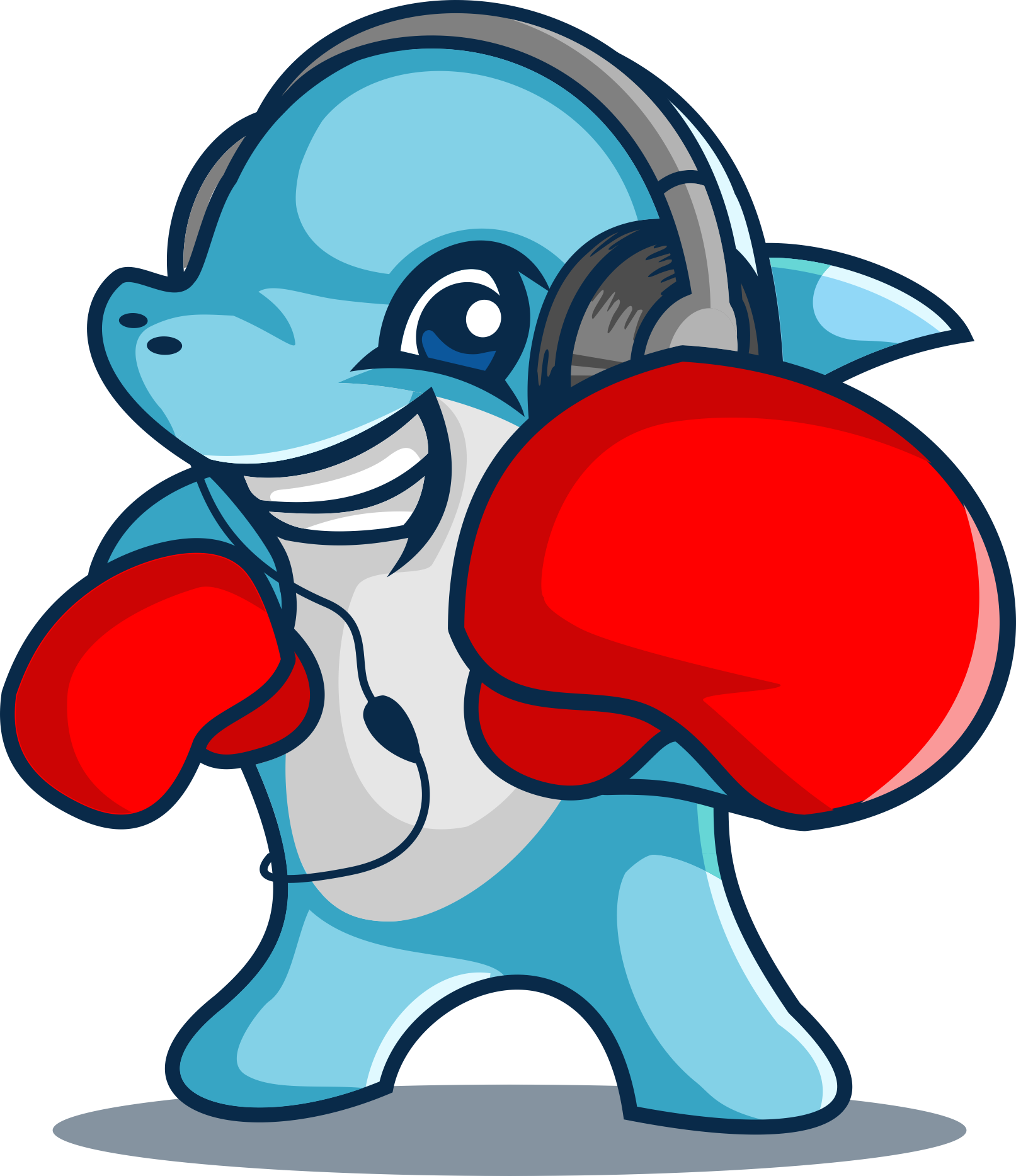 Punching Dolphins needs a new logo for their audio/music mastering service...YES Punching...Dolphins