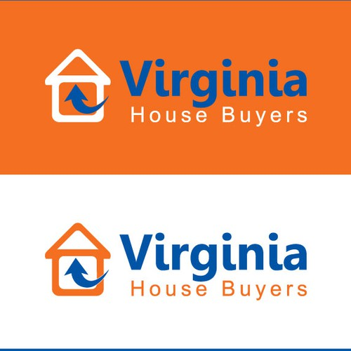 Help Virginia House Buyers - Logo with a new logo