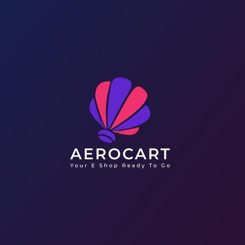 Aerocart logo design