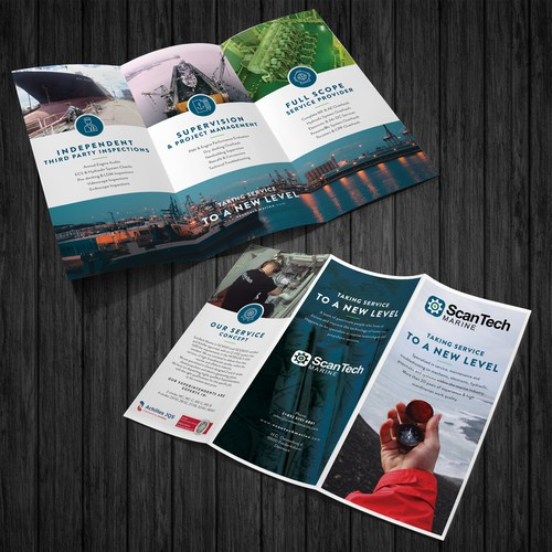 We need a new brochure for the maritime industry - ScanTech Marine