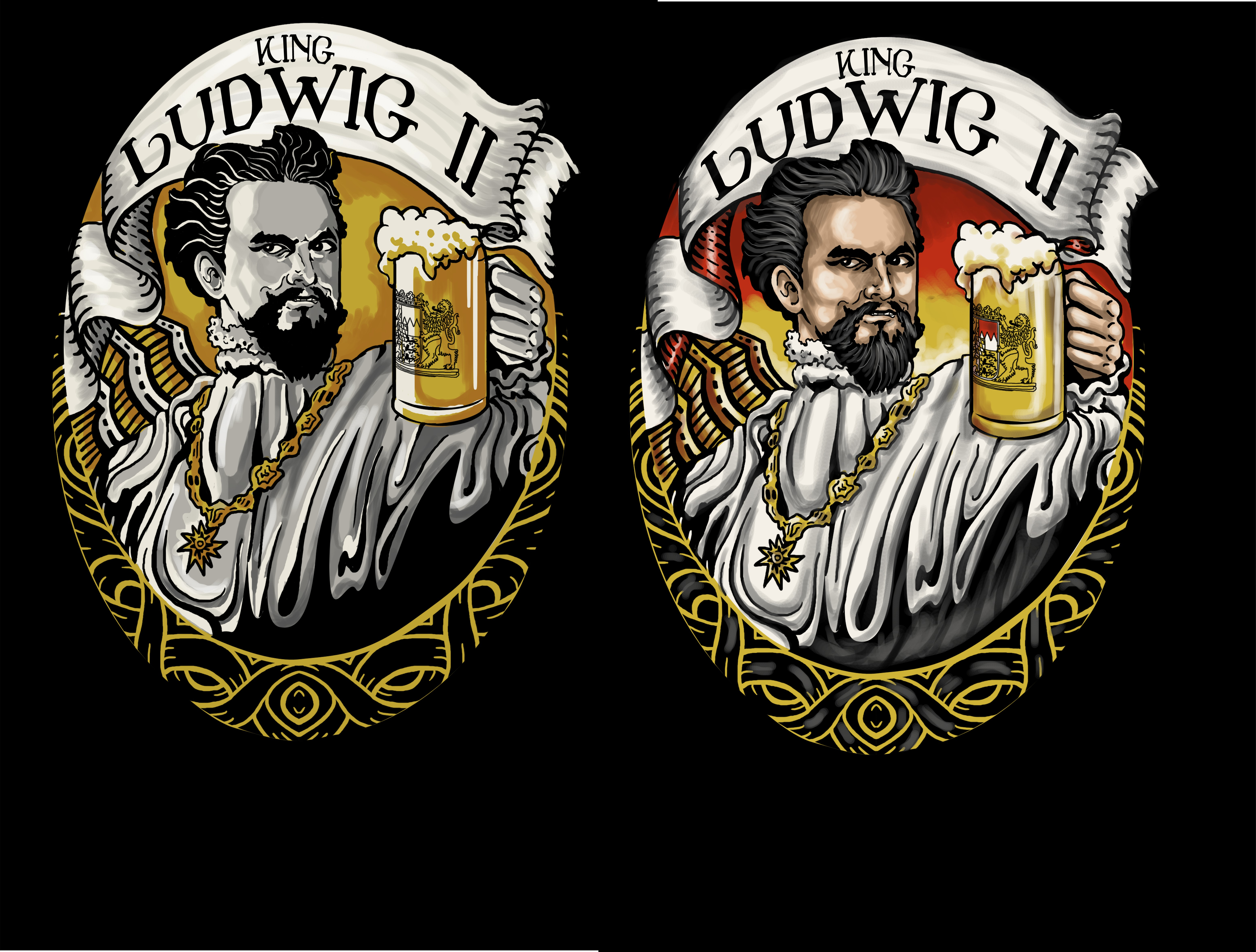 +++ Shirtdesign King Ludwig II +++ Winner guaranteed! +++
