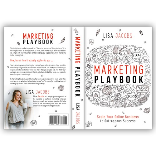 Clean Design for Best-Selling Marketing Playbook