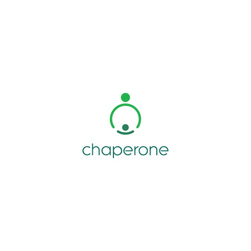 chaperone logo design ( Brand identity for new social app for parents)
