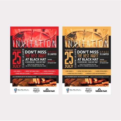 Event Invitation Card for Gurucul