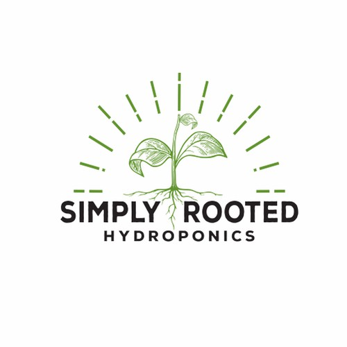 Logo Concept for Simply  Rooted