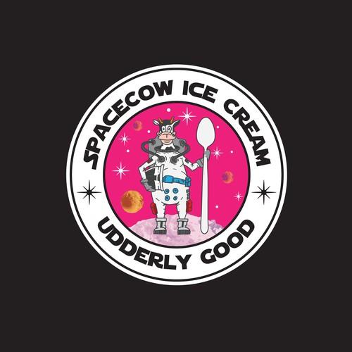 space cow ice cream