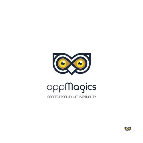 Logo for appMagics