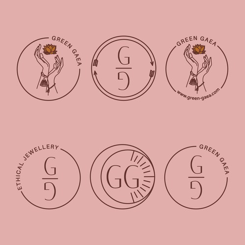 Branding Icons Green Gaea
