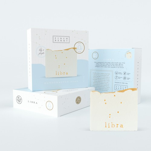 Clean Packaging for Zodiac Soap