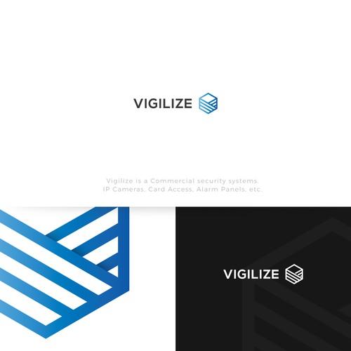 Vigilize Design Logo Concept
