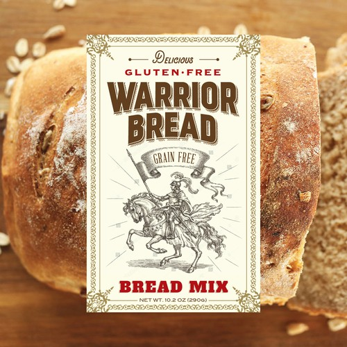 Warrior Bread label
