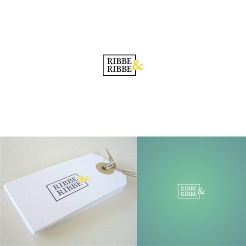 Logo Concept for Ribbe & Ribbe clothing