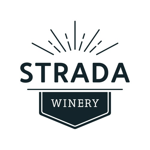 Logo Design | Strada Winery
