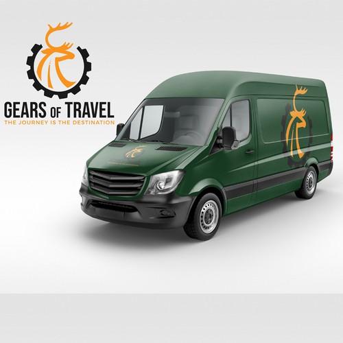 Logo concept for van rental