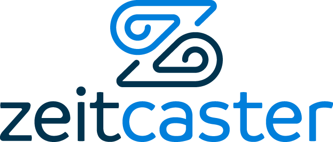 Create a new logo for Zeitcaster, a local event discovery service