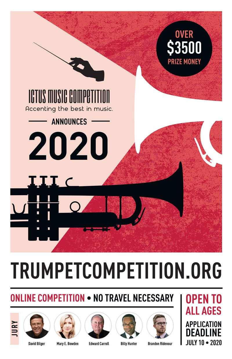 Poster for Innovative International Music Competition