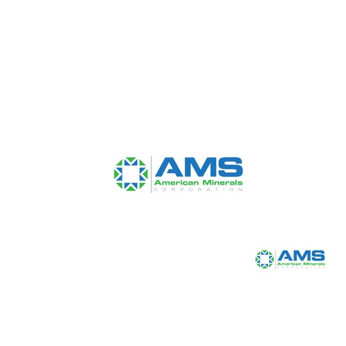 Logo Design for American Minerals Corporation