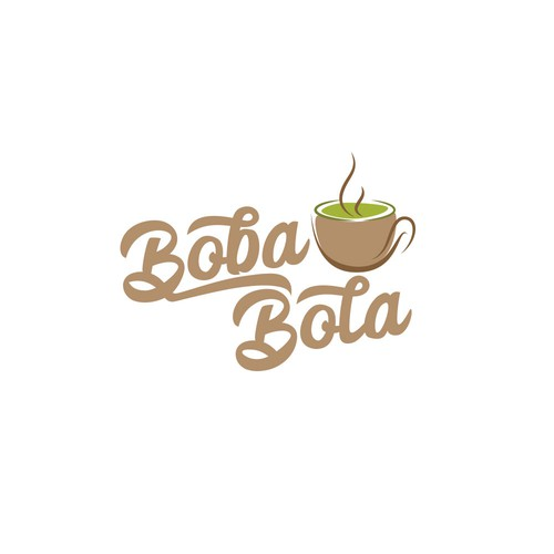 Logo for a boba tea outlet
