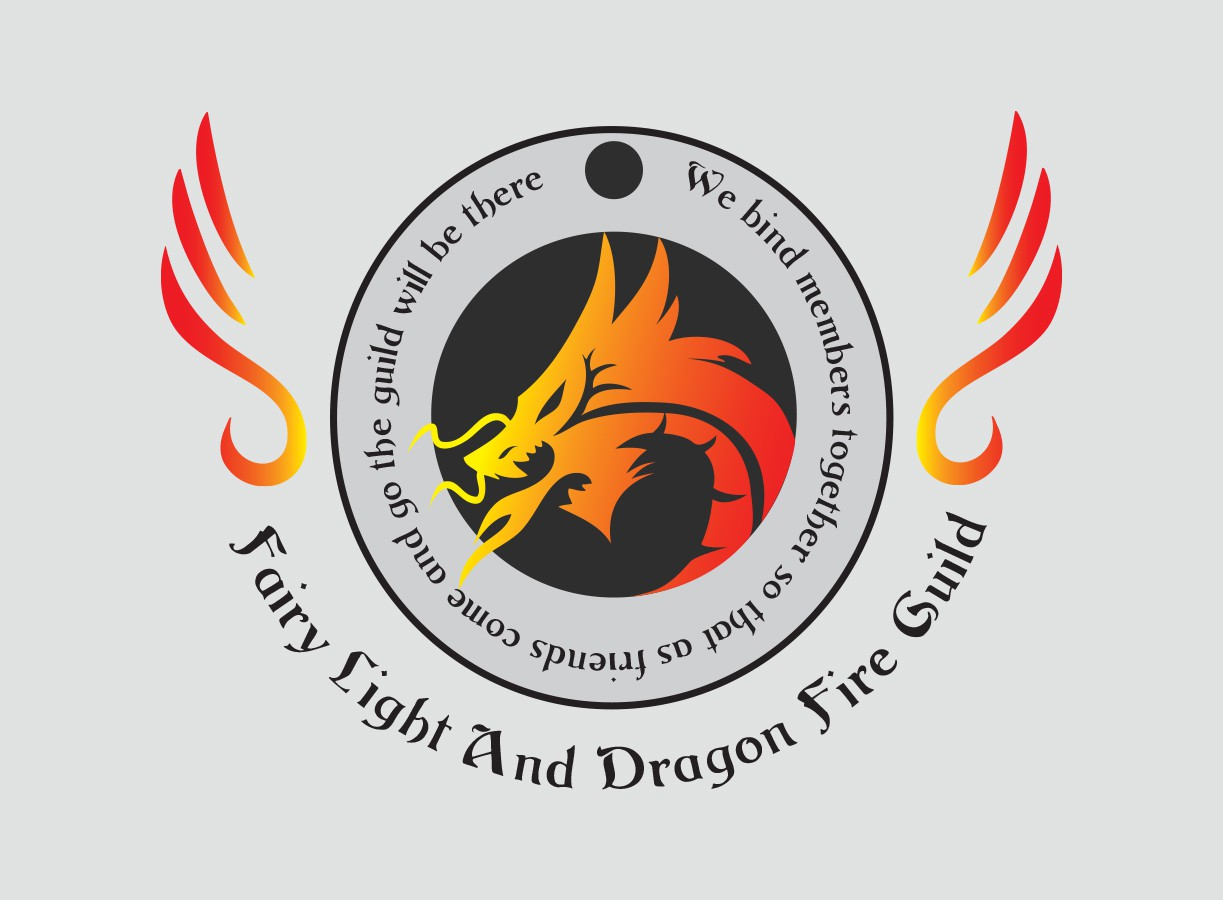 Create a logo for an anime cosplay guild