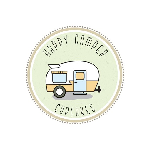 Sweet, simple logo needed for cupcake business run out of a 1960's vintage camper.