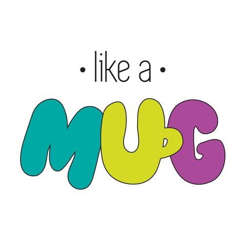 like a mug logo