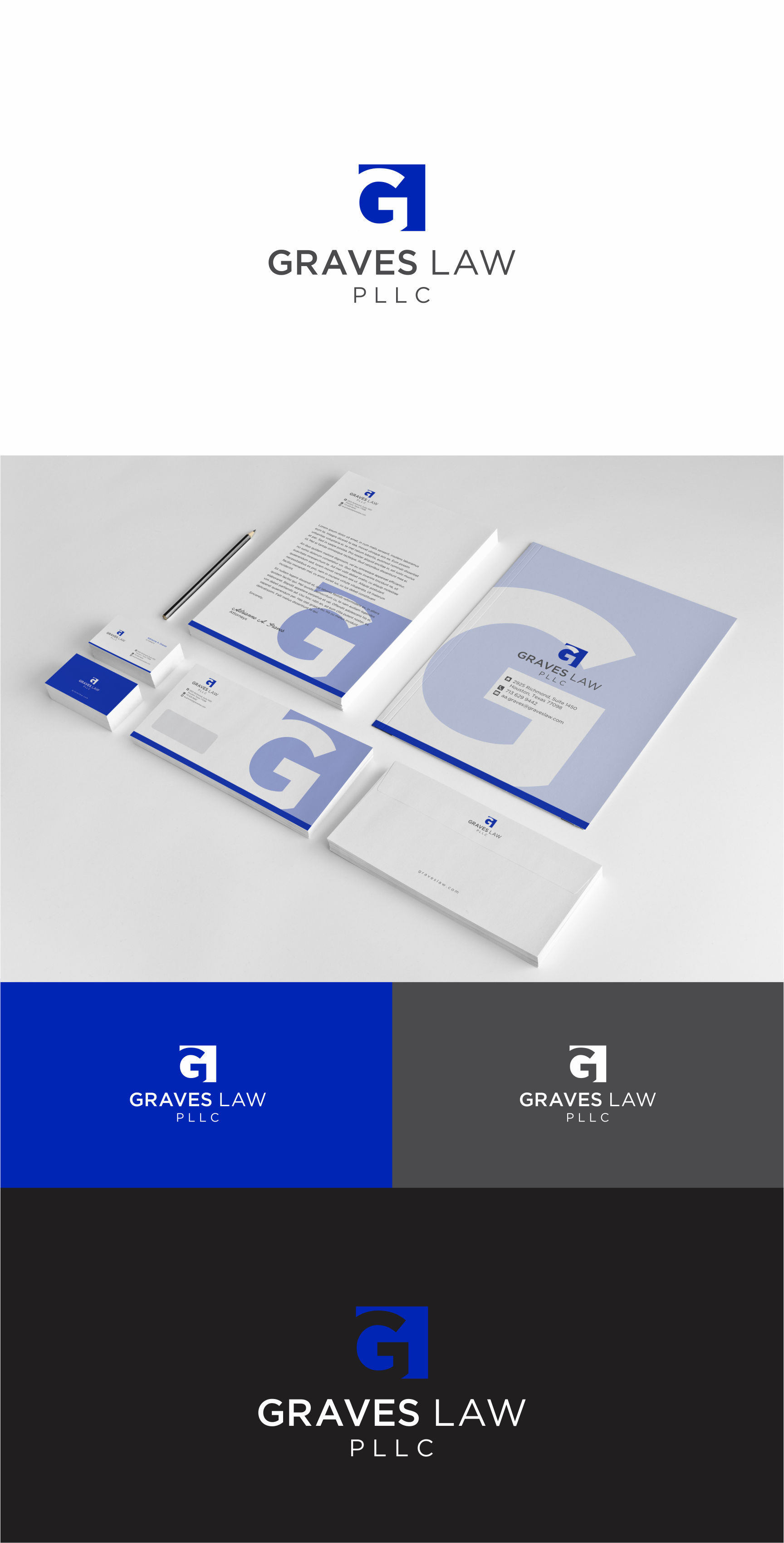 Design a modern, clean, yet edgy logo for a female-owned solo law practice