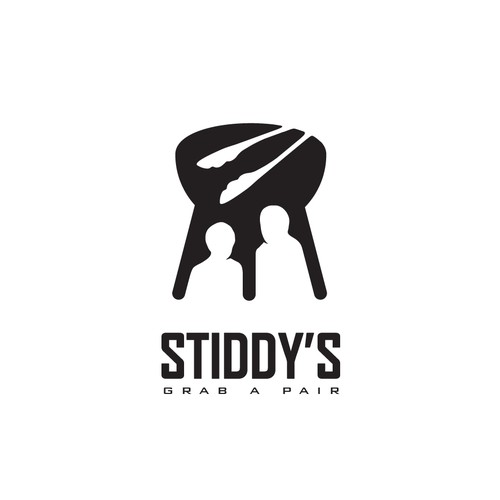 Logo Design for Stiddy's Barbeque