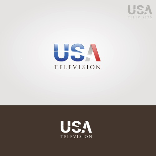 USA Television - logo design