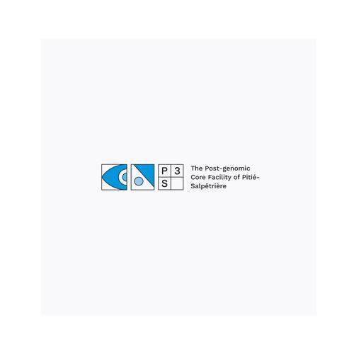 Logo concept for a post-genomic platform at the University of Sorbonne
