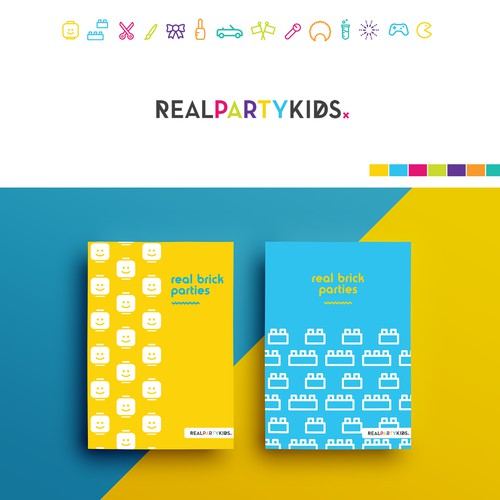 """Logo design for """"Real Party Kids"""""""