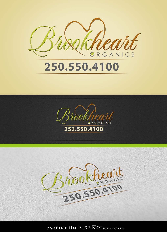 signage for Brookheart Organics