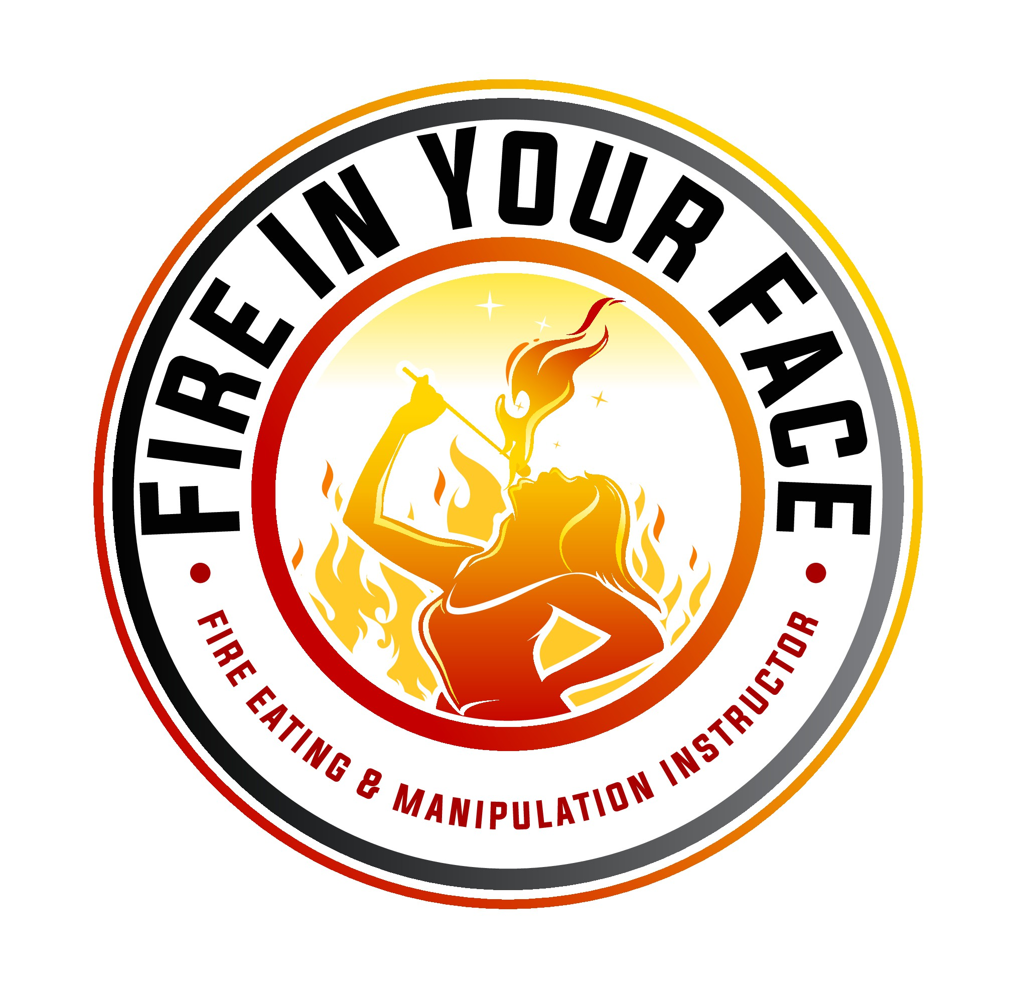 Fire Eating Instructor needs a logo design - Fun project from a communicative client! - GUARANTEED