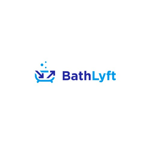 Logo designed for a bath lift