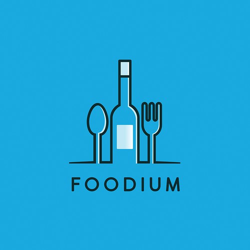 Foodium Logo