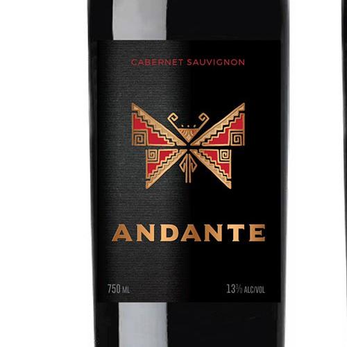 Chilean Wine Label Design