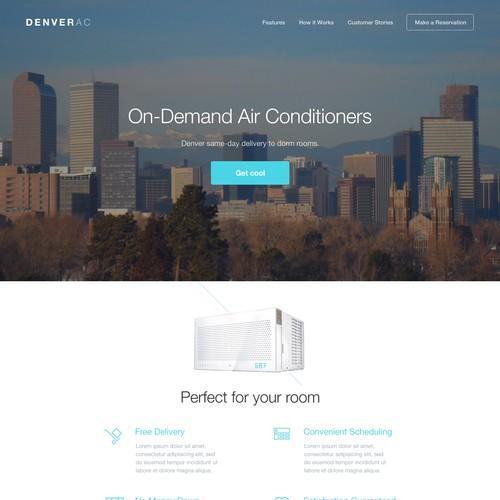 Beautiful AC Company Design