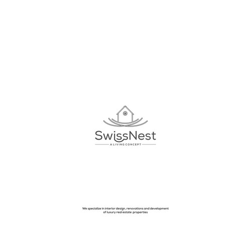 SwissNest needs a catchy and professional logo & identity