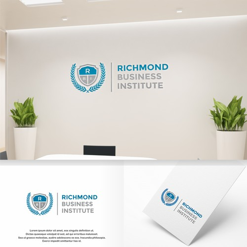 Logo Concept for Richmond Bussiness Institute