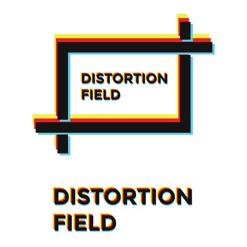 Logo design concept for Distortion Field